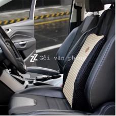 Đệm lưng ô tô chống đau cột sống cỡ lớn vỏ mát BL100