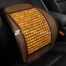 Đệm lưng hạt gỗ massage cao cấp BTL-01