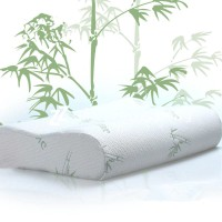 Gối ngủ memory foam vỏ cotton sợi tre GDH-03