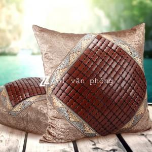 Gối tựa lưng sofa mắt trúc điều hòa làm mát GTL-09
